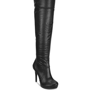 Thalia Sodi Beckie Over-The-Knee Boots